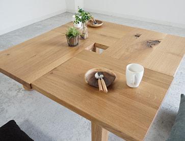 リビングテーブル hanayura(野田家具 花ゆら)