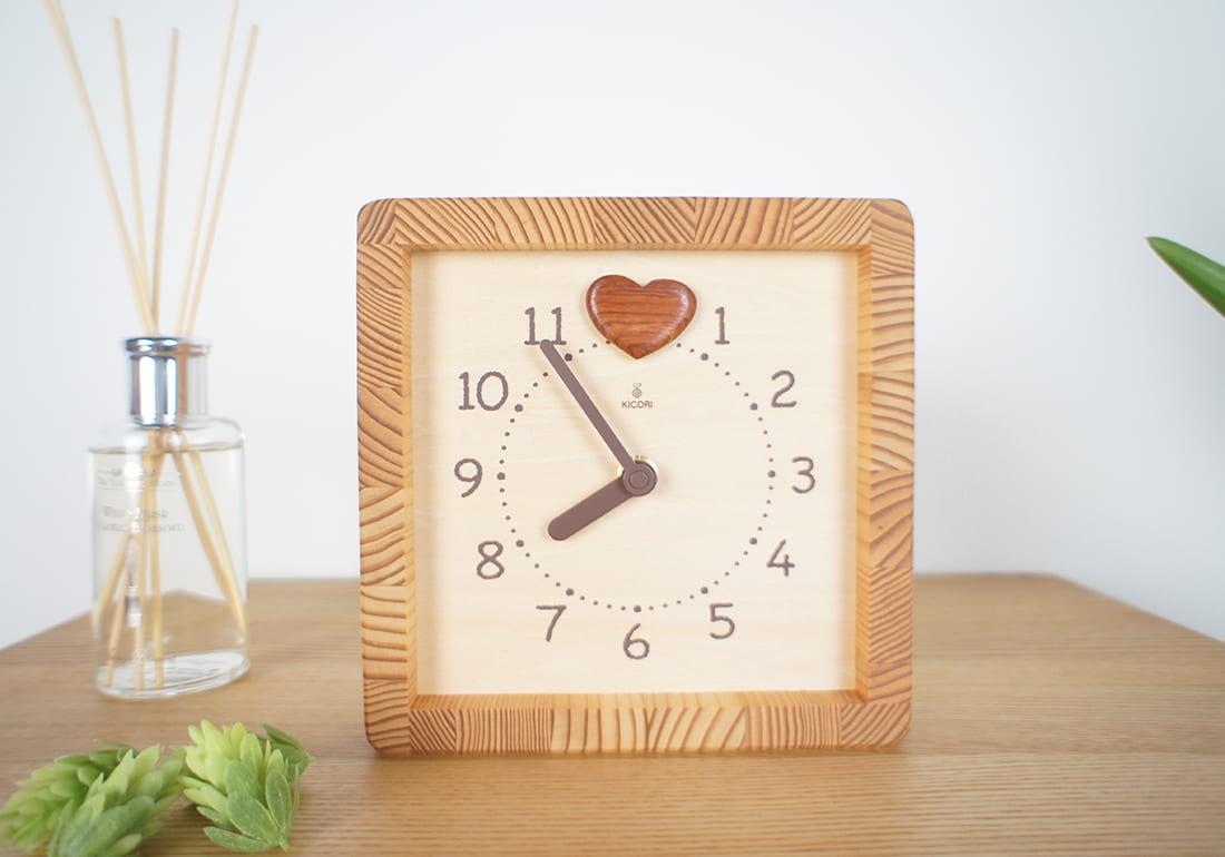クオーツ時計 ハートフル時計