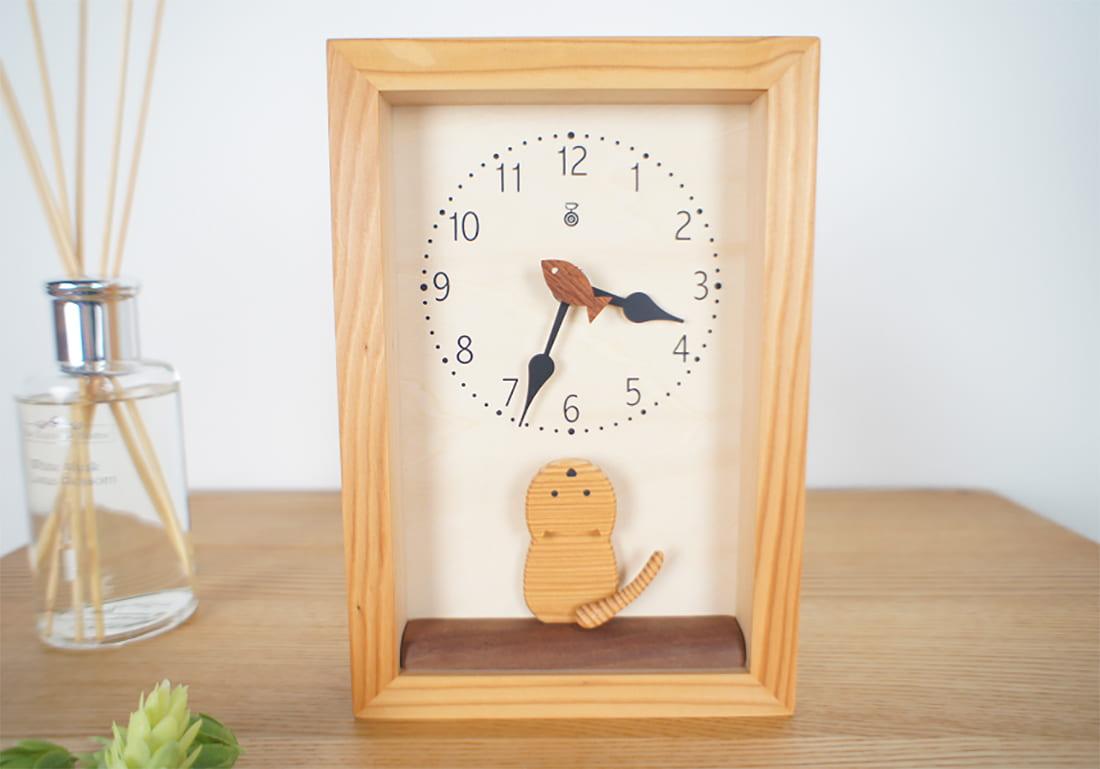 クオーツ時計 仔猫の時計