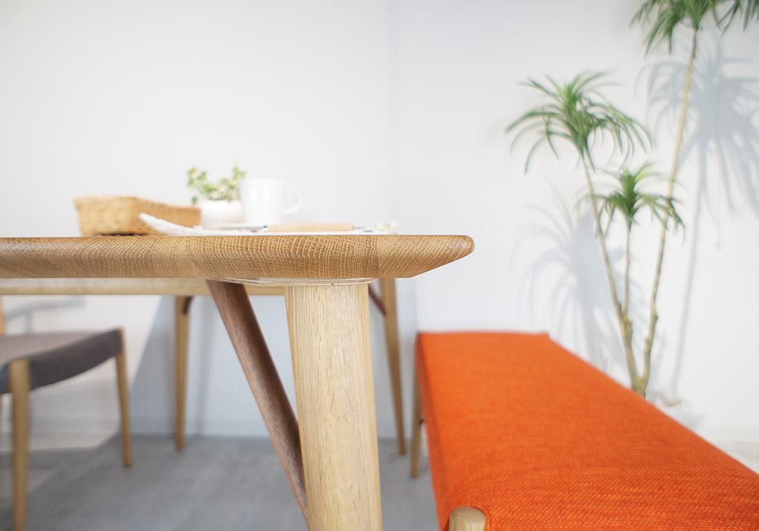 ダイニングテーブル WHITE WOOD