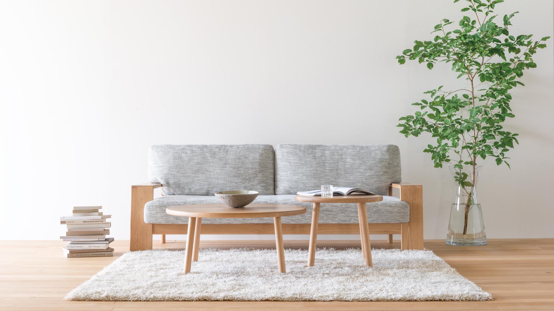 熊本県菊陽町のインテリア家具専門店「hanayura」リビング